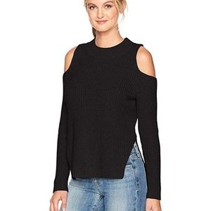 French Connection Cold Shoulder Mozart Sweater M